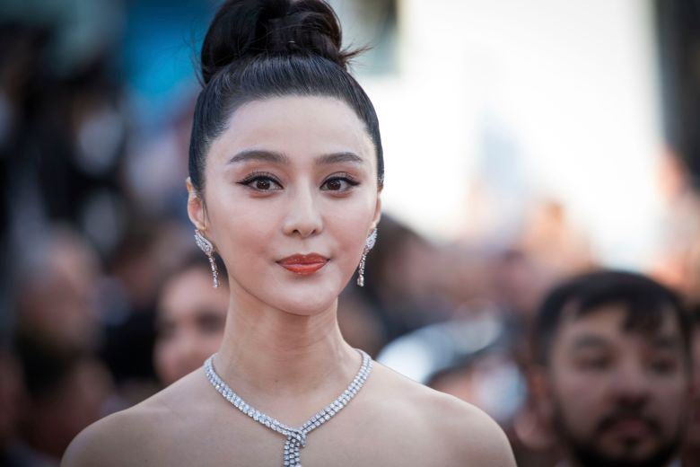 Photograph of Chinese actress Fan Bingbing (Credit: IndieWire)