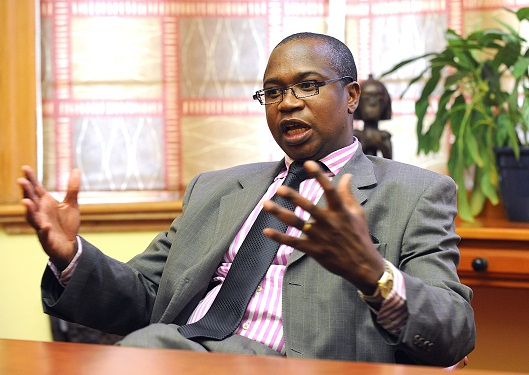 Zimbabwe's new finance minister, Mthuli Ncube (Credit: Business Day)