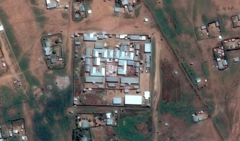 Satellite image of Jail Ogaden taken May 26, 2017. Photo: Google Earth /  Addis Standard .
