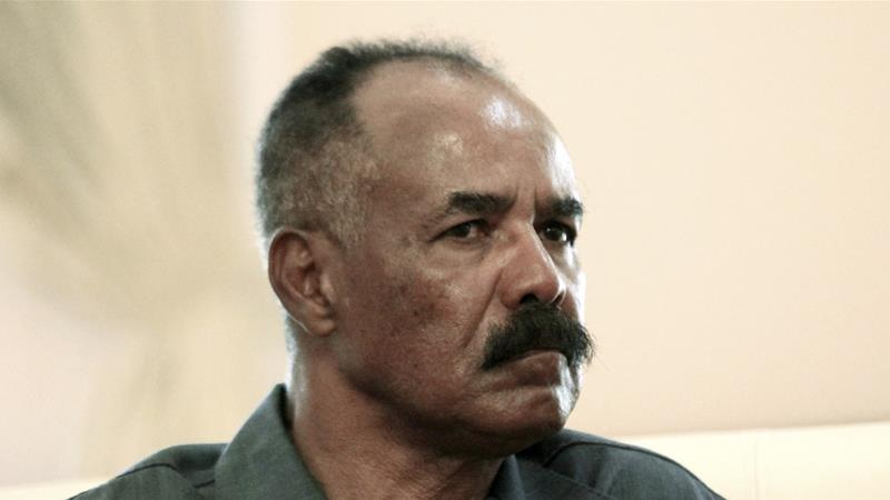 Isaias Afwerki at meeting with Sudan's President June 11, 2015  Photo: Mohamed Nureldin Abdallah/REUTERS