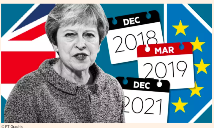 Theresa May hopes for an extension as deadline to leave EU draws closer. Credit: Financial Times