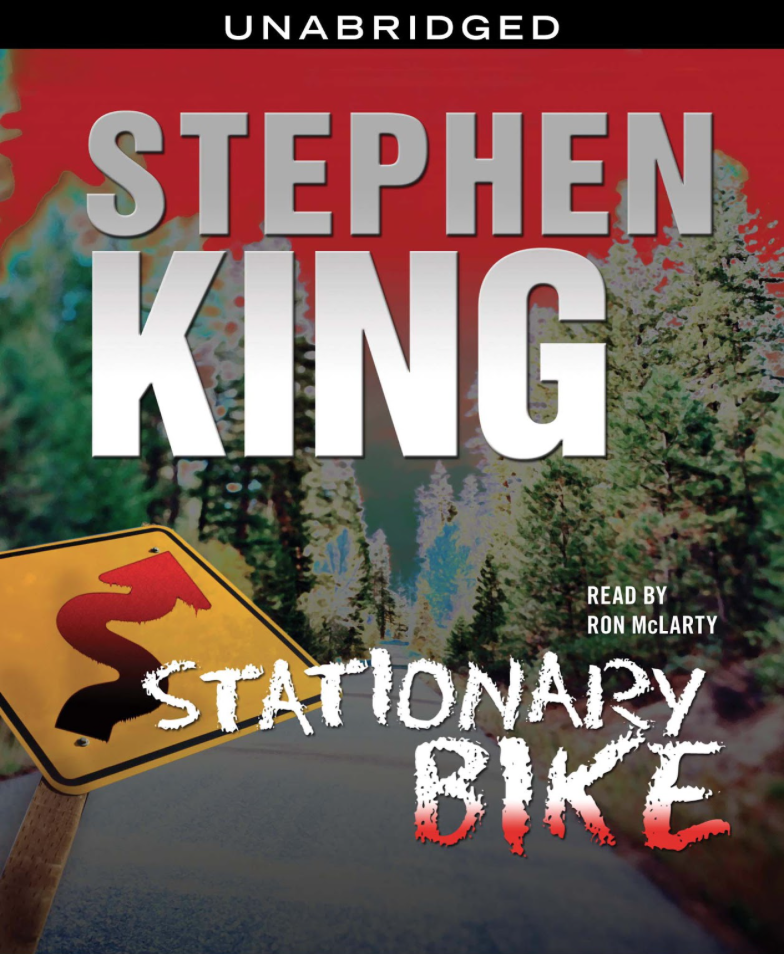 Cover for  Stationary Bike  audiobook. Photo:  Simon & Schuster .