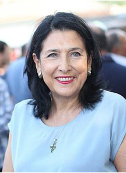 Presidential candidate, Salome Zurabishvili. Credit:  Wikipedia