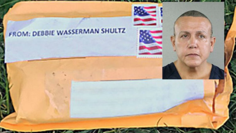 Cesar Sayoc who sent a total of 14 padded-mailers containing bomb-related materials to prominent Democratic leaders.  Credit:  Broward County Sheriff; FBI