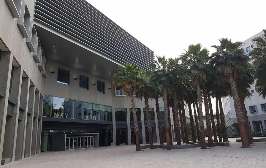 New York University's campus in Abu Dhabi, United Arab Emirates.    Credits: Andresmh (Wikimedia Commons)