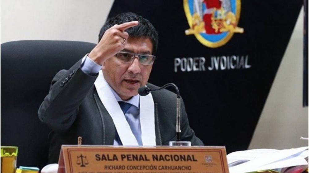 Judge Concepción  Source: Andina/  AmericaTV