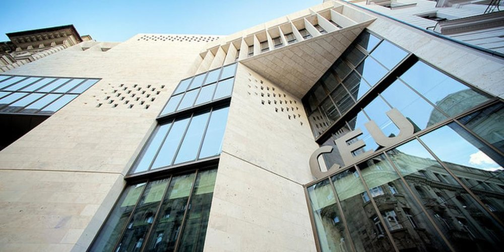 Central European University in Budapest. Photo.    Credit: CEU