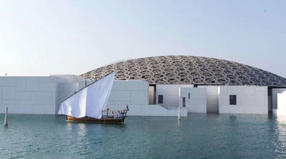 The Louvre Abu Dhabi, situated on Saadiyat island, took six years to complete and is now a major tourist attraction. Photo:  Christopher Pike/The National