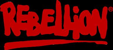 Rebellion Productions logo. Photo:  Rebellion