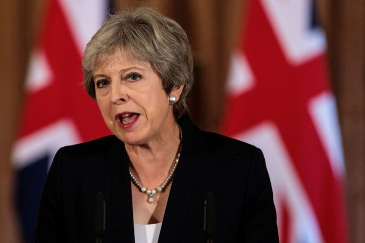UK Prime Minister Theresa May (Picture Credit::  Politico )
