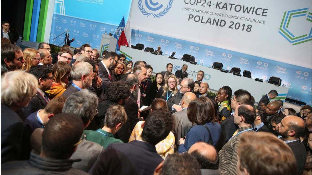COP24 conference in Katowice, Poland. Photo: Kiara Worth/ IISD/ENB