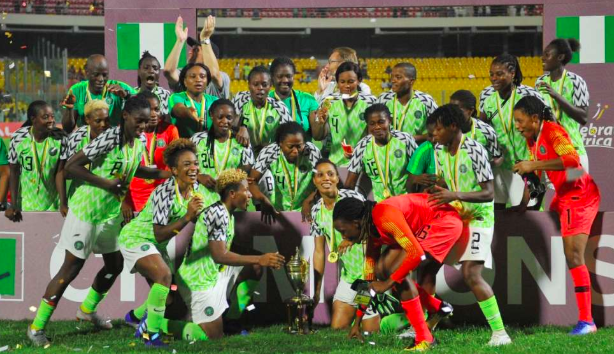 Despite the success of many of Africa's women's sports teams, men's teams receive more media coverage, more funding, and more opportunities. Photo:  Pulse NG .