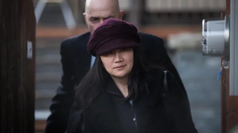 Huawei Executive Meng Wanzhou Heading to Court  Photo:  Darryl Dyck/The Canadian Press