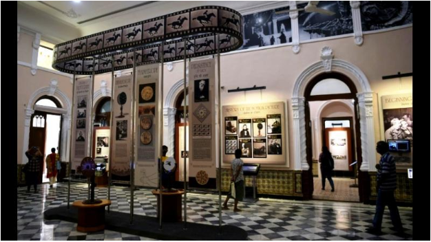 A look inside The National Museum of Indian Cinema. Photo:  Deccan Chronicle