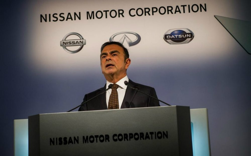 Embattled former chairman of Nissan Motor Corporation Carlos Ghosn faces charges of falsifying financial reports along with misusing corporate funds for personal use. Photo:  The Sunday Times