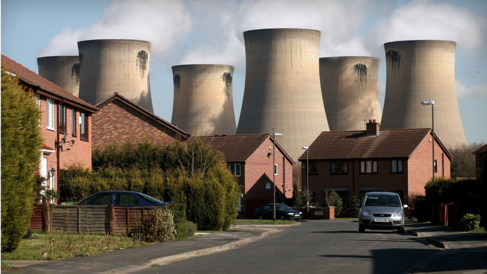 The Drax Power Plant in North Yorkshire. Photo:  Financial Times