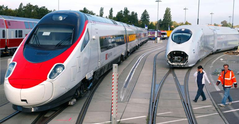 Siemens and Alstom proposed to combine their rail and signaling businesses in order to compete more effectively in global markets (Source:  American Machinist )