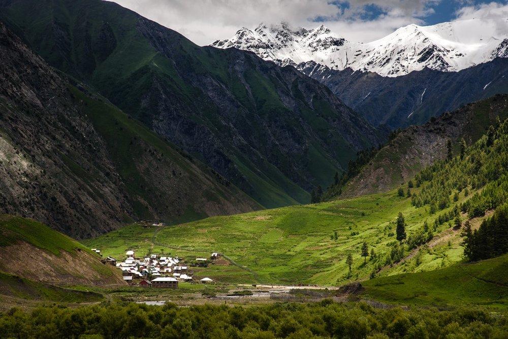 Kashmir region in India. Photo:  SBS News