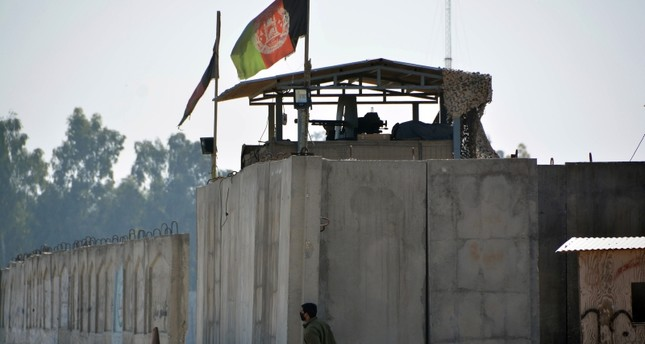 Afghan security forces guard the Jalalabad airport after the March 6th attack; Photo:  Daily Sabah,  AP