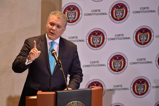 President Iván Duque. Photo:  Reuters