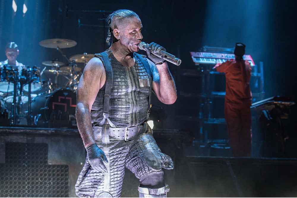 Rammstein in concert. Photo:  Loudwire