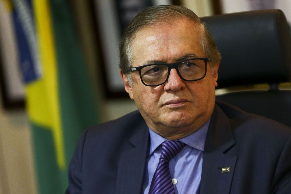Education Minister Ricardo Vélez Rodriguéz, who has proposed rewriting the descriptions of the Brazilian 1964 coup d'état on textbooks. Photo:  Marcelo Camargo/Agencia Brasil