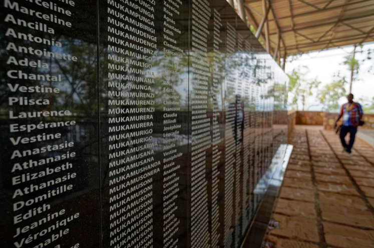 Outside a church in Ntarama, Rwanda, a memorial has been set up for the thousands of people who were killed in and around the Catholic Church during the 1994 genocide. Photo: Unknown/ AP via US News