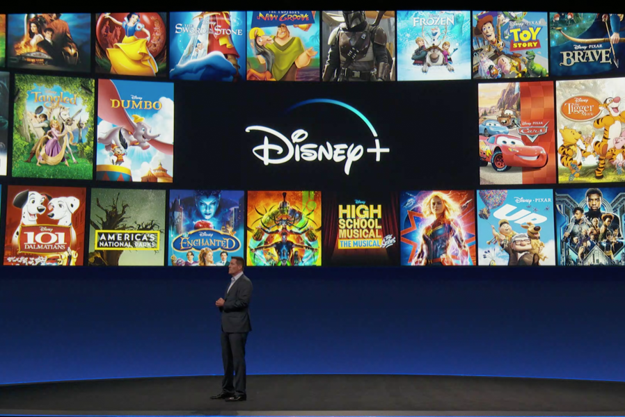 Press presentation of Disney+. Photo:  IndieWire