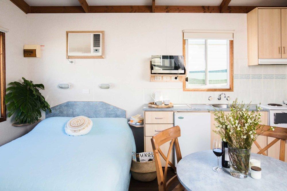 Motel Style Cabin -