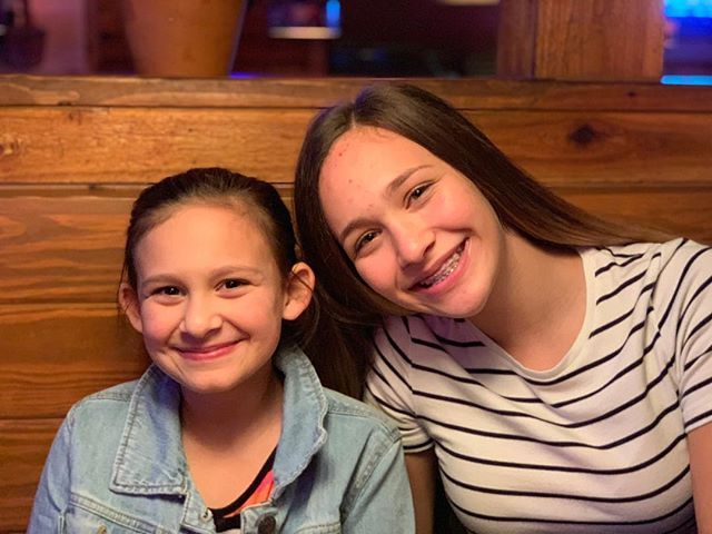 After back to back weekends away doing ministry with @pameladelarosby I MADE sure my girls knew what is important to me. So. I took them on a date. Talked about what we preached. Talked about boys/dating and MY rules. Laughed and ate way too much. These girls mean everything to me. I ended the night with a gift from me to them. A gift that represents their heart that should be on LOCK until the time is right for them to give the key away. So for now. I'm keeping a close on that key.