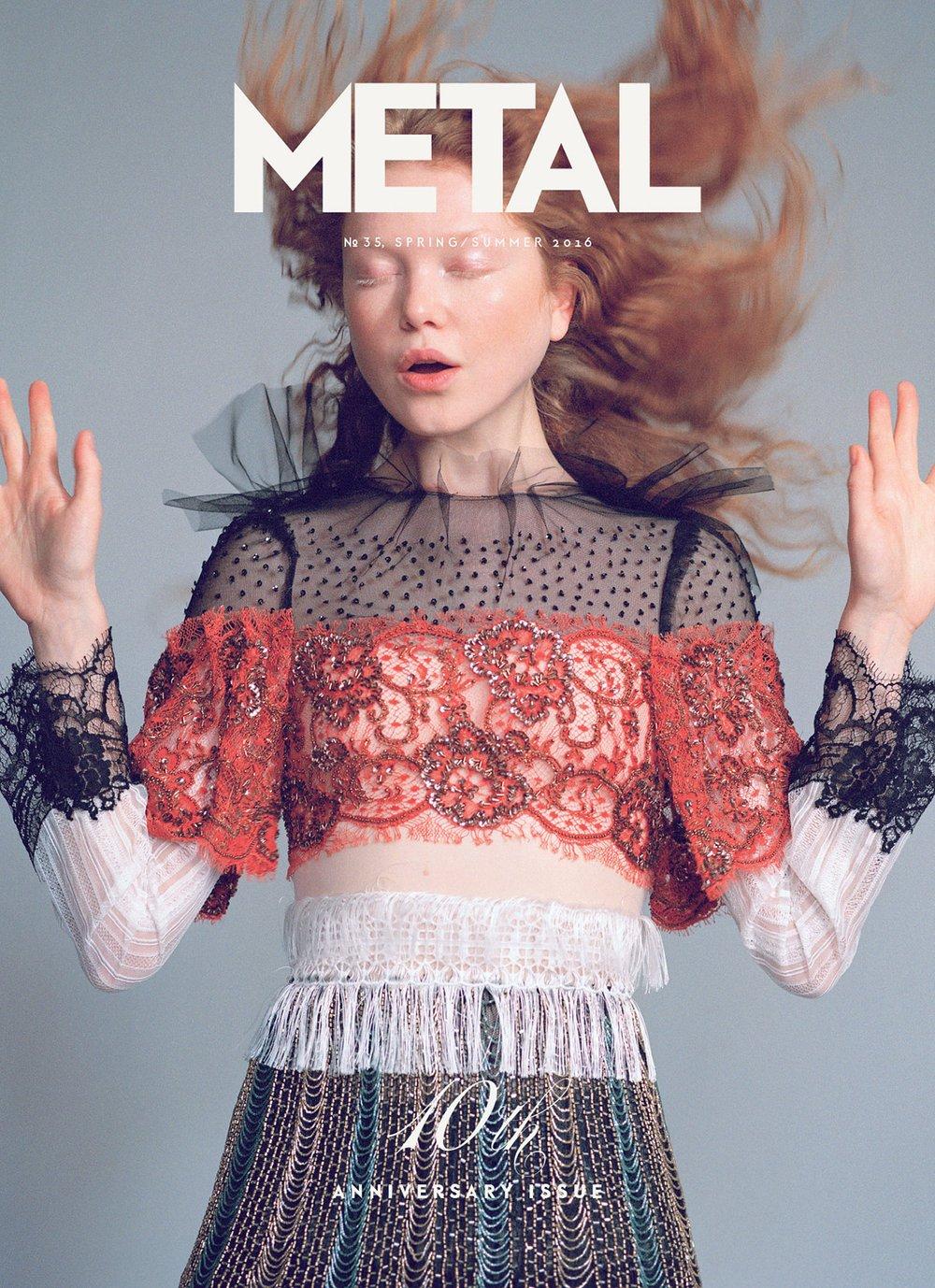 COVER 2 - Varya Shutova (Muse) wearing Rodarte by Maurizio Bavutti