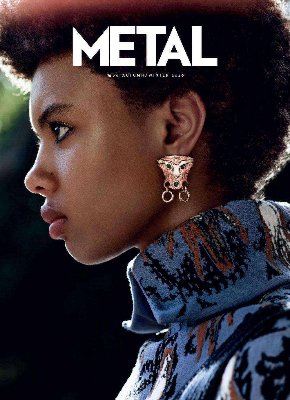 COVER 3 - Poppy Okotcha by Billy Ballard wearing Dior