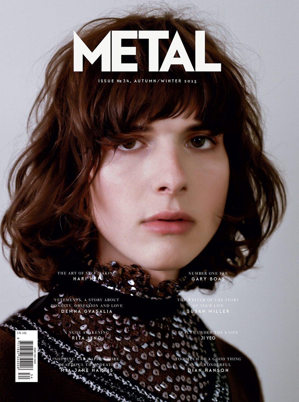COVER 3 - Hari Nef (IMG) wearing Rodarte by Tina Tyrell.