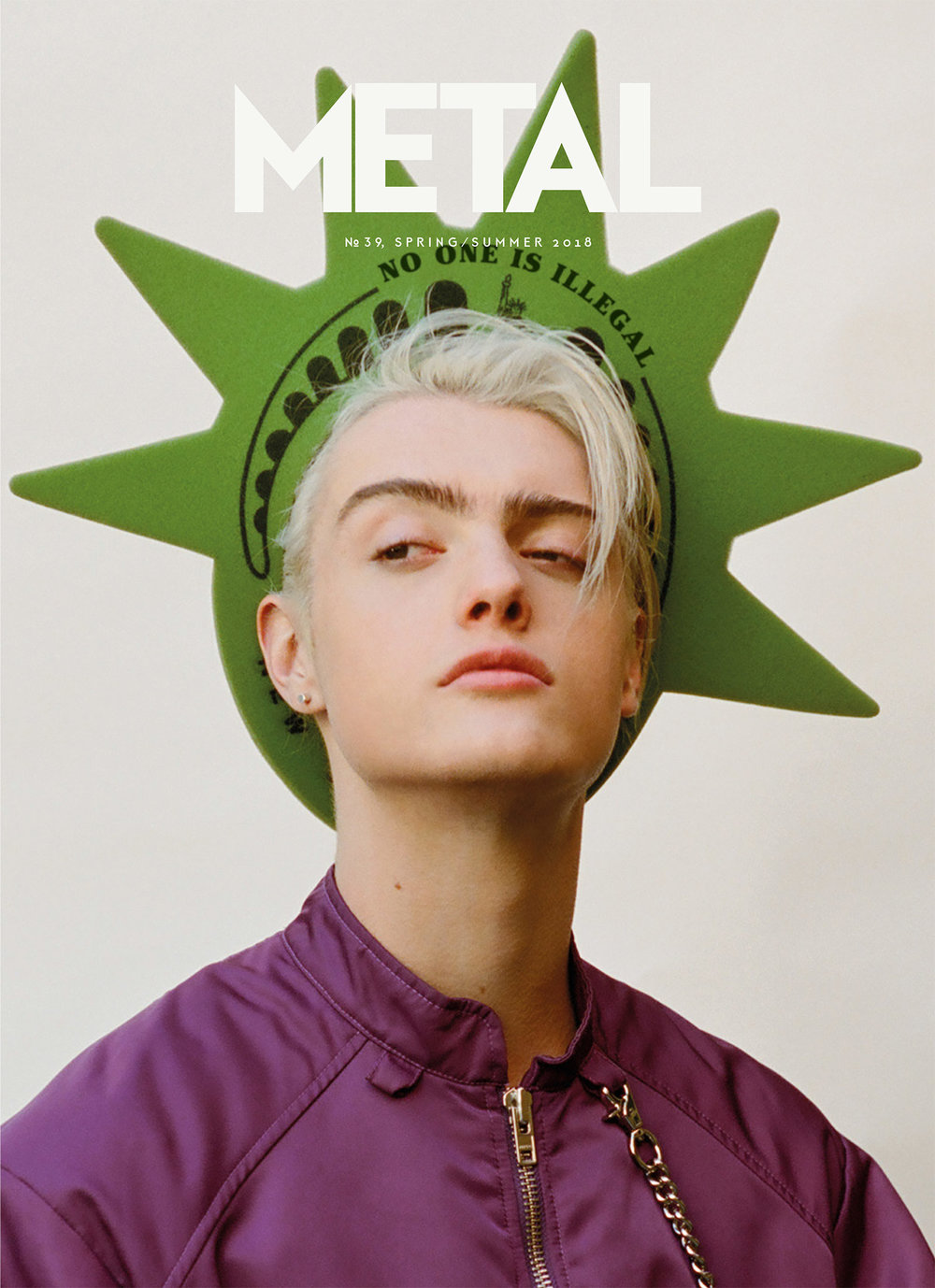 Cover 2 - Casil McArthur (Soul Artist Management) in Kenzo by Clément Pascal.
