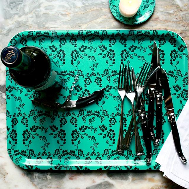 Vine Turquoise - Large Tray