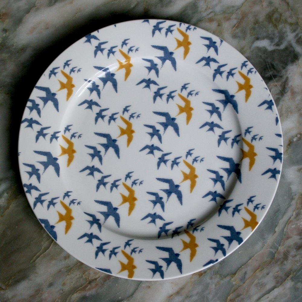 Flock - Bone China Plate