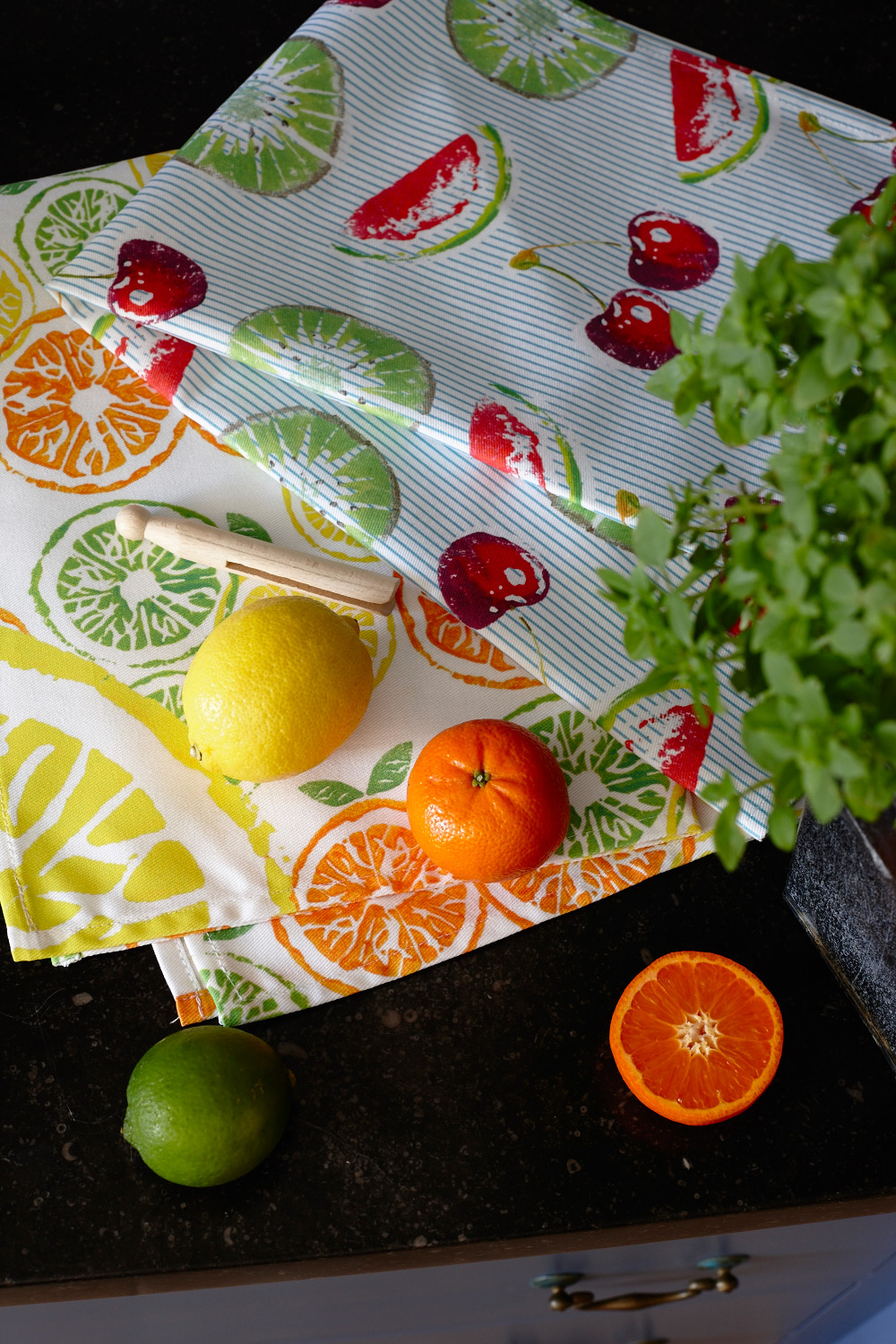 Fresh Fruit Tea towel