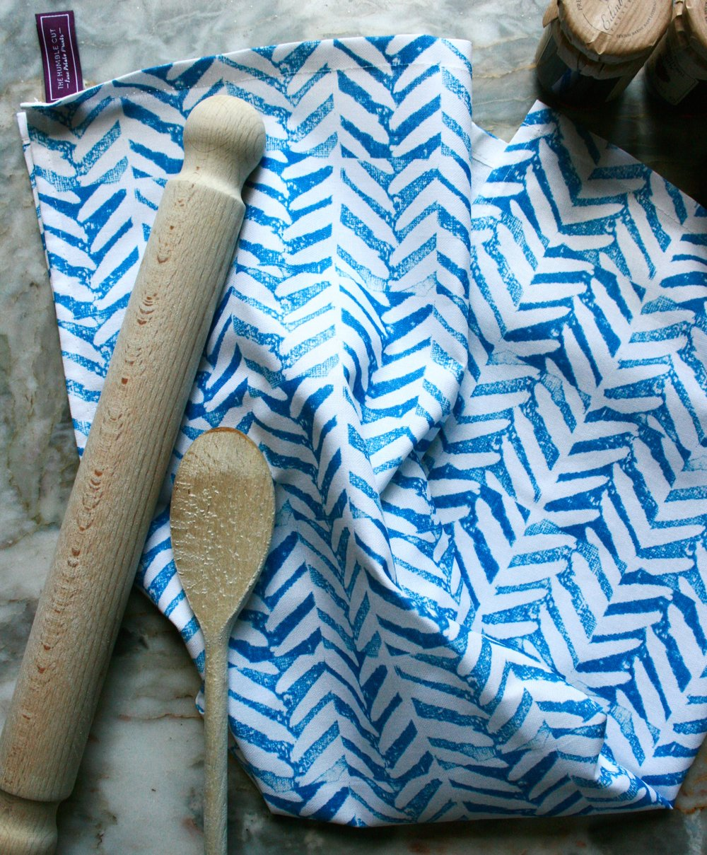 Herringbone Tea Towel
