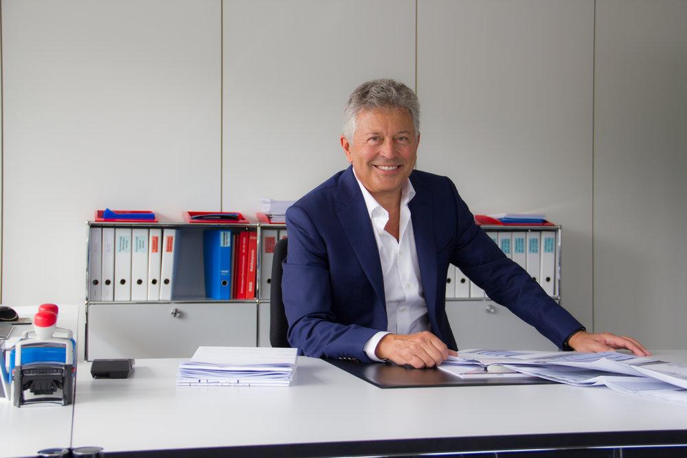 Anton Wismer, Inhaber und Geschäftsführer