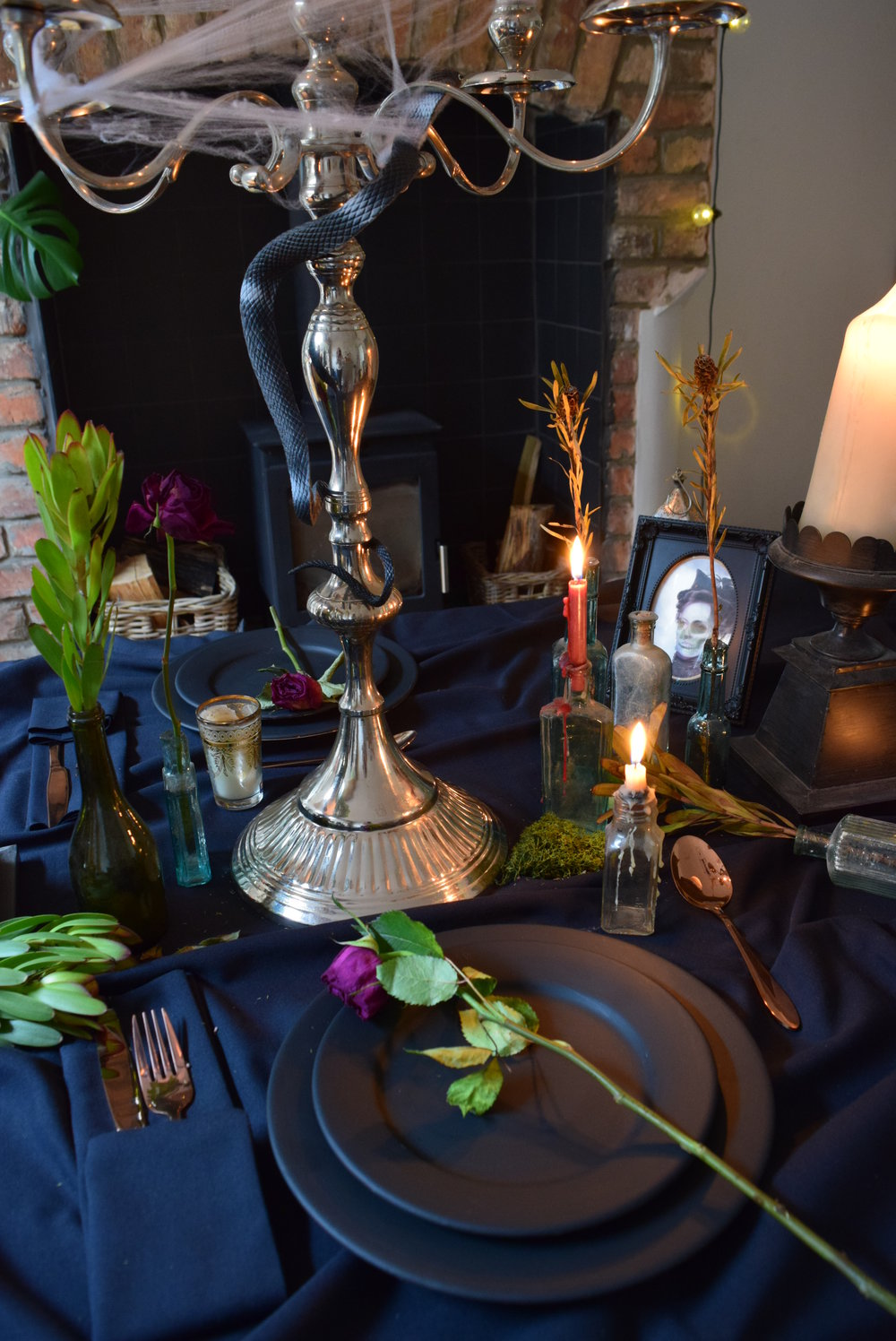 Decadent Halloween Table Setting.2.JPG