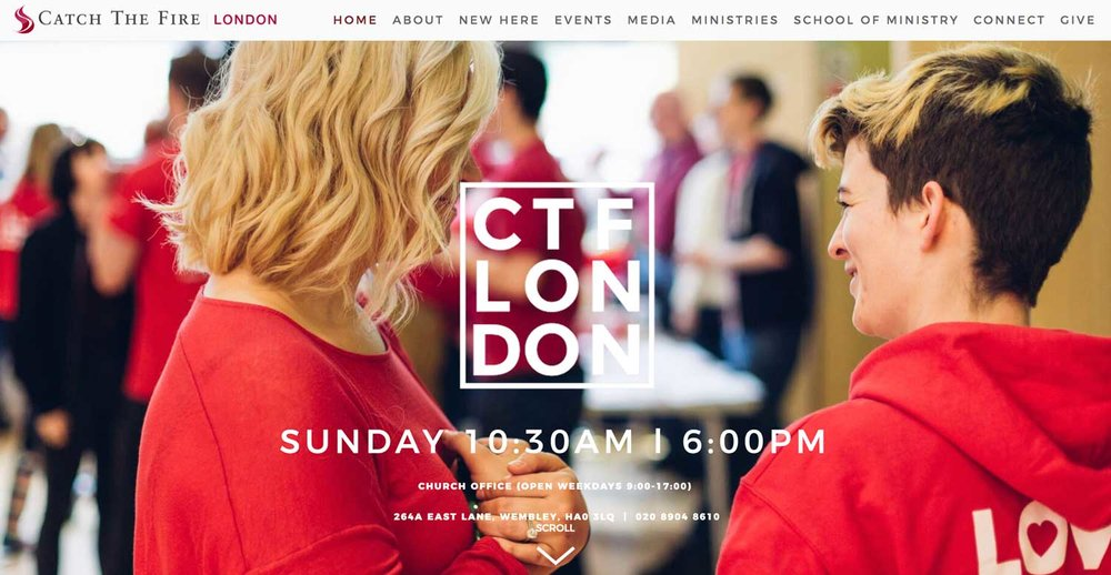 CTF LONDON - Web Design // Audio & Video // Marketing // Branding // Team Managment