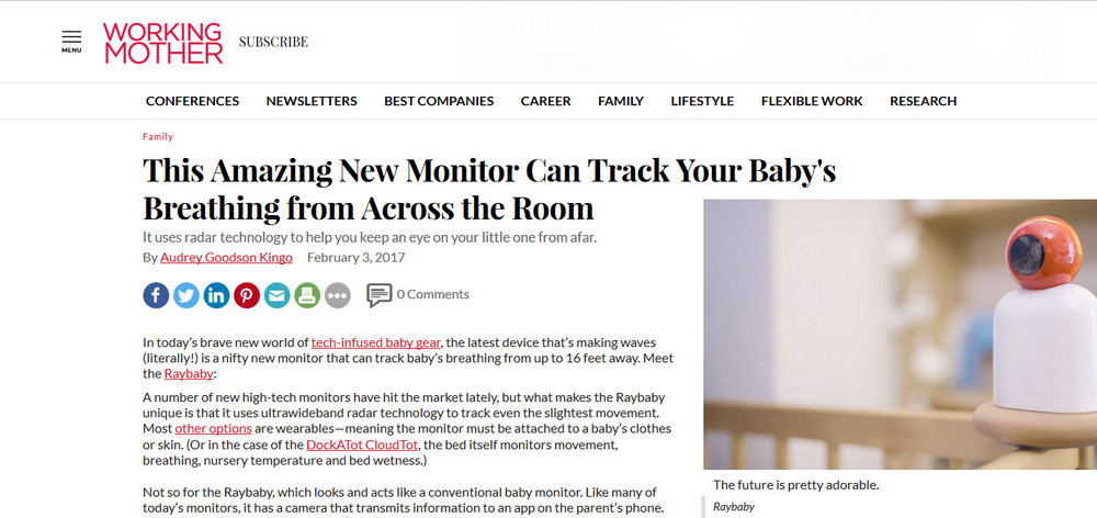 This Amazing New Monitor Can Track Your Baby's Breathing from Across the Room
