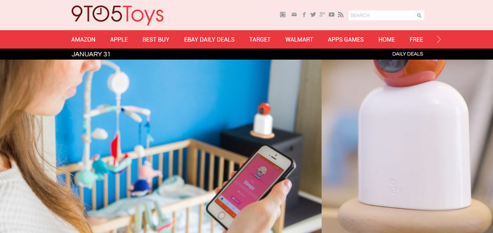 Raybaby keeps an eye on your baby and even monitors breathing without wires or straps