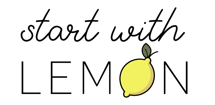 Start With Lemon