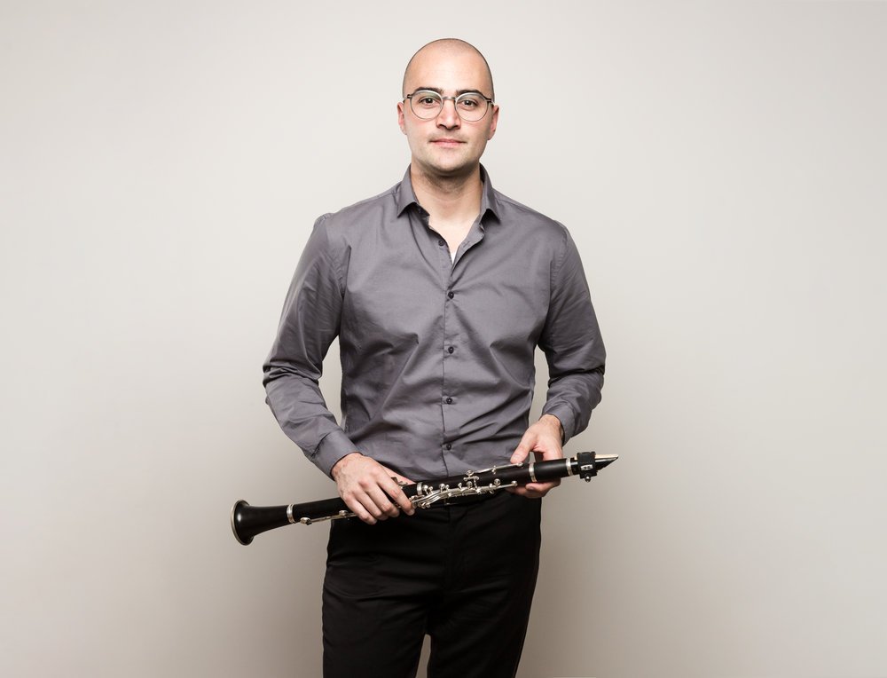 Justin Beere - Co-Artistic Director/Clarinet