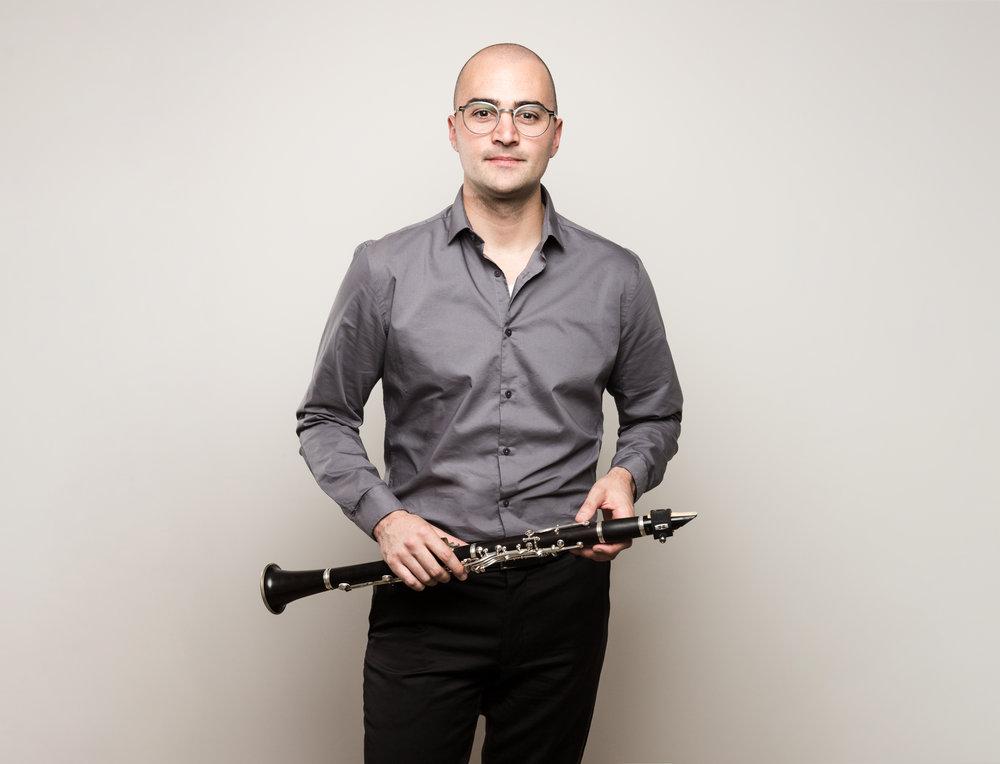Justin Beere - Co-Director/Clarinet