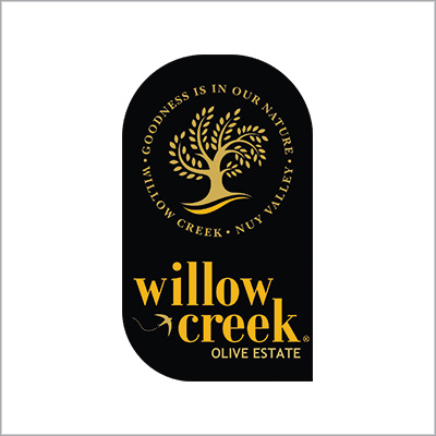 WILLOW CREEK   , Nuy Valley, Worcester    EVOO TASTING:  Mon to Fri: 9am – 4:30pm