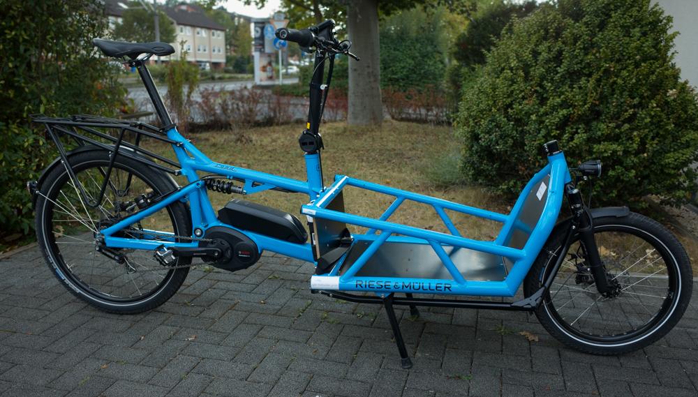 Unser neues Lastenrad: Das Load von Riese & Müller