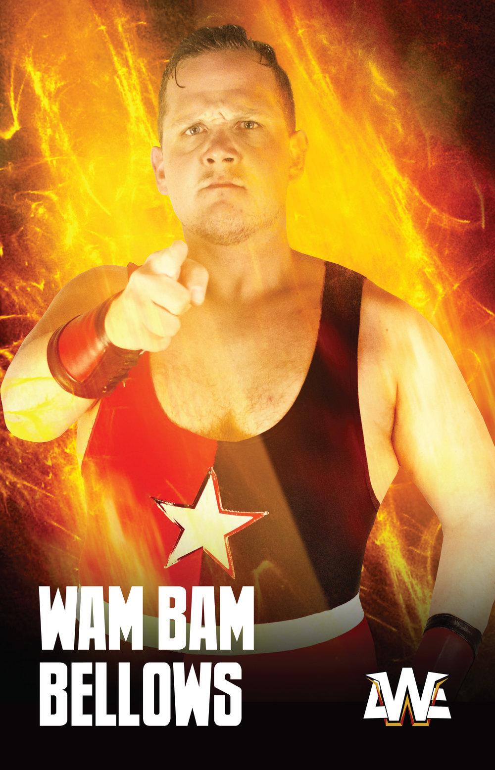 Znalezione obrazy dla zapytania awe asia wrestling entertainment results WAM BAM BALLOWS