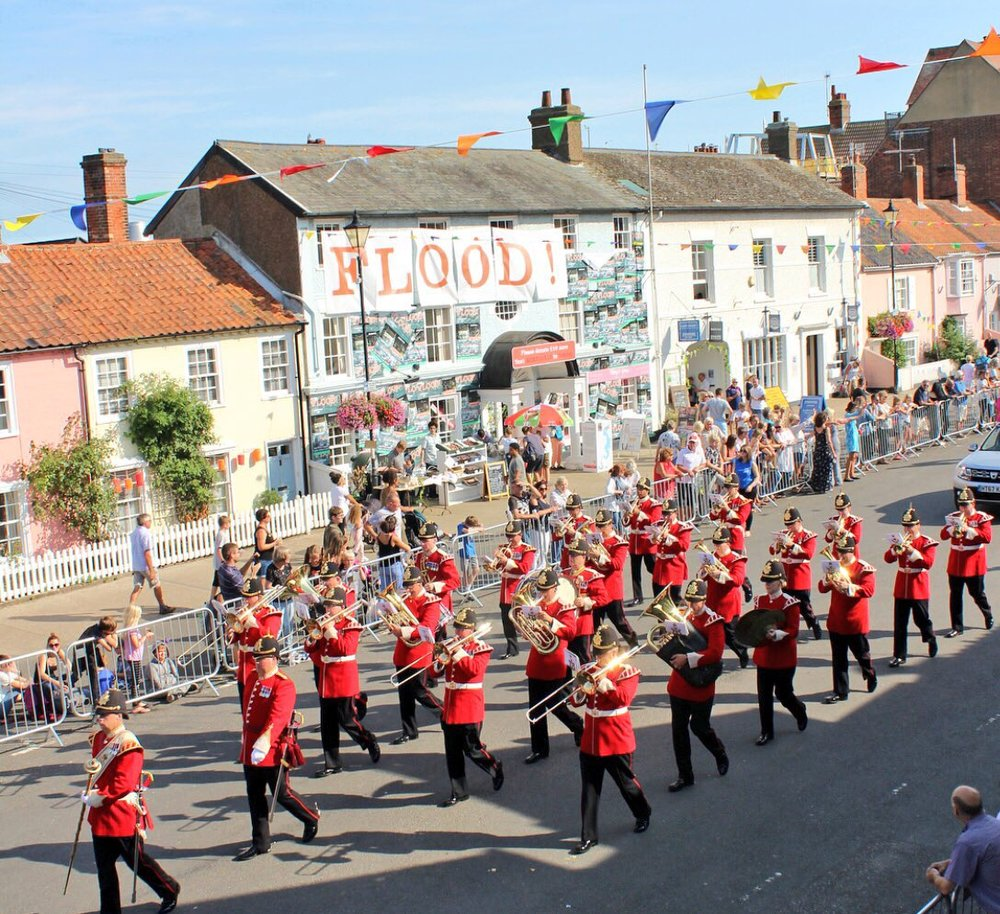 Aldeburgh Carnival - August 2018. (photo credit O&C Butcher)